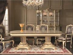Tavolo da pranzo rettangolare in legno35TH ANNIVERSARY 2155-2157 - SCAPPINI & C. CLASSIC FURNITURE