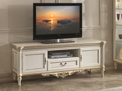 Mobile TV basso laccato con ante a battente 35TH ANNIVERSARY 2707 - SCAPPINI & C. CLASSIC FURNITURE