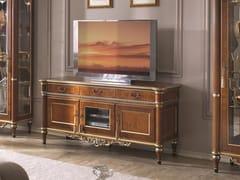 Mobile TV basso in legno con cassetti35TH ANNIVERSARY 2709 - SCAPPINI & C. CLASSIC FURNITURE