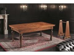 Tavolo da gioco rettangolare da salotto in legno35TH ANNIVERSARY 991 - SCAPPINI & C. CLASSIC FURNITURE