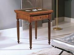 Tavolo da backgammon quadrato in legno35TH ANNIVERSARY 995 - SCAPPINI & C. CLASSIC FURNITURE
