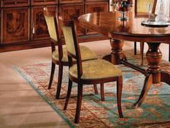 Sedia in legno con imbottitura in tessuto35TH ANNIVERSARY SE 292 - SCAPPINI & C. CLASSIC FURNITURE