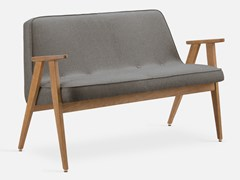 Divanetto in legno e tessuto366 TWEED | Divanetto - 366 CONCEPT S.C.
