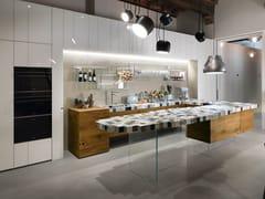 Cucina con penisola36E8 MADETERRANEO | Cucina con penisola - LAGO