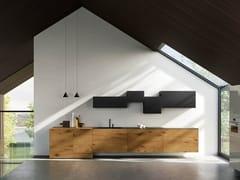 Cucina lineare36E8 WILDWOOD | Cucina lineare - LAGO