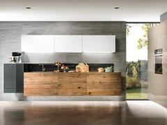 Cucina lineare sospesa36E8 WILDWOOD 0227   Cucina - LAGO