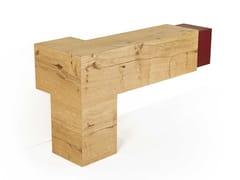 Consolle rettangolare in legno3D | Consolle in rovere - ARKOF LABODESIGN