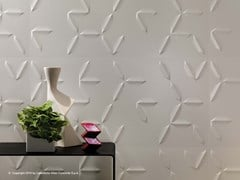 Rivestimento tridimensionale in ceramica a pasta bianca 3D WALL DESIGN FLAKE - 3D Wall Design