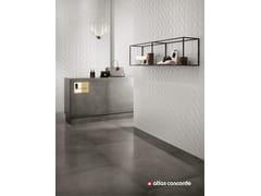 Rivestimento tridimensionale in ceramica a pasta bianca3D WALL DESIGN KITE - ATLAS CONCORDE