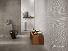 Rivestimento tridimensionale in ceramica a pasta bianca 3D WALL DESIGN LINE - 3D Wall Design