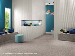 Rivestimento tridimensionale in ceramica a pasta bianca 3D WALL DESIGN STARS - 3D Wall Design