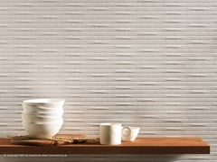 Rivestimento tridimensionale in ceramica a pasta bianca3D WALL CARVE WHITTLE - ATLAS CONCORDE