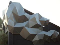 Rivestimento tridimensionale per facciateTAILOR MADE   Rivestimento tridimensionale per facciate - WOOD-SKIN