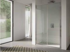 Box doccia a nicchia in vetro con porta scorrevole4.0   Nicchia - Porta scorrevole - DISENIA