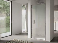 Box doccia a nicchia in vetro con porta a battente 4.0 - QT1P - 4.0