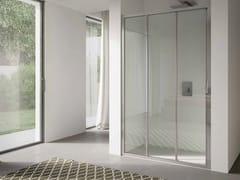 Box doccia a nicchia in vetro con porta scorrevole 4.0 - QTS2N - 4.0