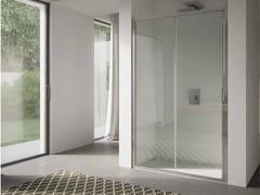 Box doccia a nicchia in vetro con porta scorrevole 4.0 - QTSN - 4.0
