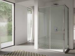 Box doccia angolare in vetro con porta scorrevole 4.0 - QTSN+QTFI - 4.0