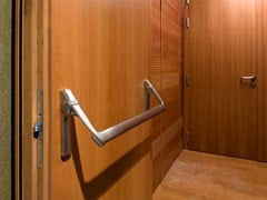 Porta tagliafuoco acustica in legno40 DB | Porta acustica - SEBINO CHIUSURE