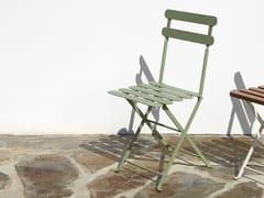 Sedia da giardino pieghevole403 | Sedia in metallo - ADICO