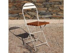 Sedia da giardino pieghevole in metallo404 | Sedia - ADICO