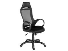 Sedia ufficio ad altezza regolabile in rete con braccioli4074 | Sedia ufficio - ANGEL CERDÁ