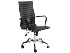 Sedia ufficio ad altezza regolabile in similpelle con braccioli4077 | Sedia ufficio - ANGEL CERDÁ