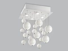 Lampada da soffitto in vetro soffiato BOLERO 40x40 - Bolero