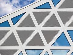RENSON, 411 LOUVRES Griglia di ventilazione decorativa in alluminio