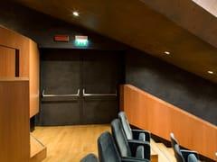 Porta tagliafuoco acustica in legno43 DB | Porta acustica - SEBINO CHIUSURE