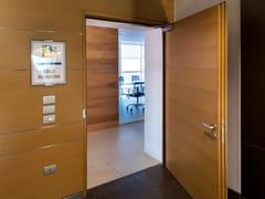 Porta tagliafuoco acustica in legno43 DB - EI 120 | Porta acustica - SEBINO CHIUSURE