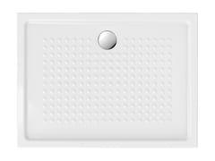 Piatto doccia antiscivolo rettangolare in ceramicaH4,5 120X90 | Piatto doccia - GSI CERAMICA