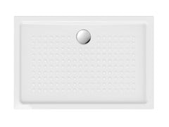 Piatto doccia antiscivolo rettangolare in ceramicaH4,5 120X80 | Piatto doccia - GSI CERAMICA