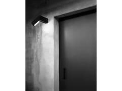 Lampada da parete per esterno a LED orientabile in alluminio45 - FLOS