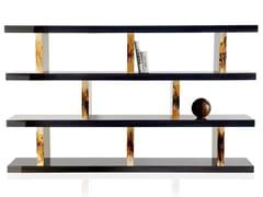 Libreria a giorno bifacciale in ebanoGIANO 4510 - ARCAHORN