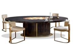 Tavolo ovale in ebanoNETTUNO 4875 - ARCAHORN