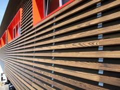 Doghe In Legno Per Pareti : Pannelli in legno per facciate edilportale