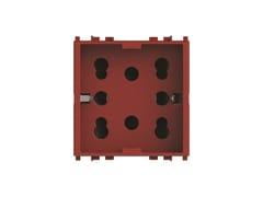 Presa a due moduli per serie civileSIDE 4B.V20R.H21 - 4 BOX