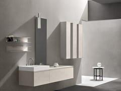 Mobile lavabo componibile laccato sospeso 5.ZERO | Mobile lavabo componibile - 5.Zero
