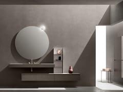 Mobile lavabo singolo sospeso con cassetti 5.ZERO | Mobile lavabo singolo - 5.Zero