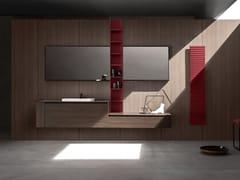 Mobile lavabo sospeso con cassetti 5.ZERO | Mobile lavabo con cassetti - 5.Zero