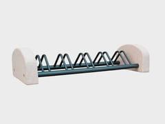 Portabici in cementoPORTABICI MULTIPLO 5 POSTI - CANTIERE TRI PLOK