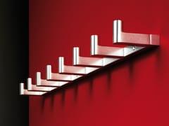 Appendiabiti da parete in alluminio 1001 | Appendiabiti da parete - Iserlohner Haken