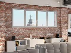 Finestra in alluminio e legno con triplo vetro500.55 ALUMINIUM DESIGN - AGOSTINIGROUP