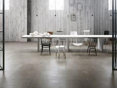 GranitiFiandre, 500 F HEAT Pavimento/rivestimento in gres porcellanato effetto cemento effetto resina per interni ed esterni