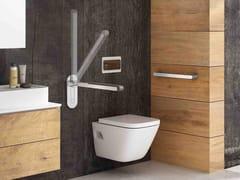 Maniglione bagno in alluminio per wc500 | Maniglione bagno per wc - PROVEX INDUSTRIE