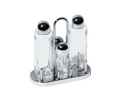 Sale e pepe / set olio e aceto in acciaio inox5070 | Set olio e aceto - ALESSI