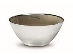 Coppa in vetro decorato e copertura in argentoDOGALE | Coppa in vetro - RINO GREGGIO ARGENTERIE