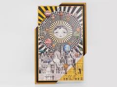 Stampa su carta con cornice in legno masselloBALLOONS - KARE DESIGN