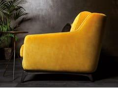 Poltrona in tessuto con braccioli 575 HI_STORY | Poltrona in tessuto - E_Spirit